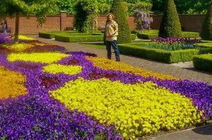 7 million bulbs bloom each spring at Keukenhof.