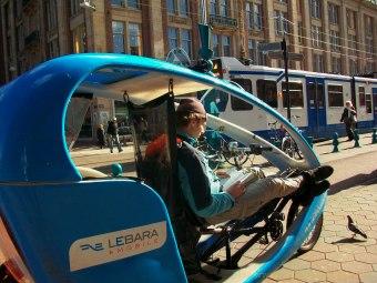 Getting around in Amsterdam
