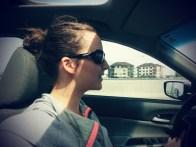 Claudia qui me conduit à la ToHu