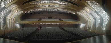 Le théâtre de Nanjing est un vaisseau spatial..!