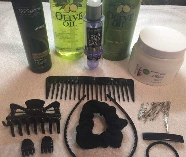 What I Own: Minimalist Hair Care