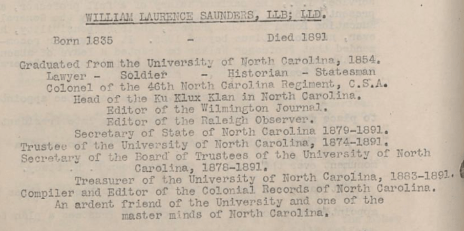 Minutes, Oversize Volume SV-40001/12 (p. 234), in the Board of Trustees of the University of North Carolina Records #40001, University Archives, Wilson Library, The University of North Carolina at Chapel Hill.