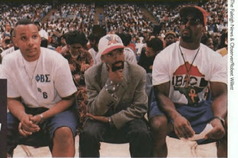 Anthony Peay, Spike Lee, and John Bradley, Carolina Alumni Review, Winter 1992, Page 16.