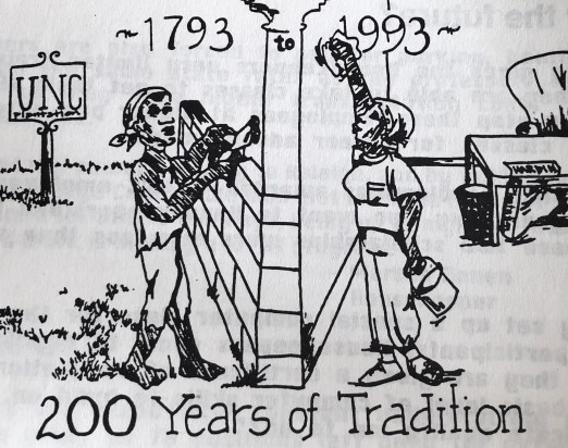 """Two Hundred Years of Tradition,"" in the Chapel Hill News Herald, 1 October 1993."