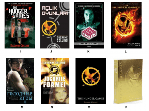 Hunger Games World Covers- Match the Country to the Cover!! (1)