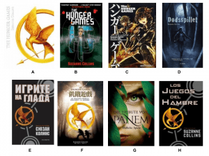 Hunger Games World Covers- Match the Country to the Cover!!