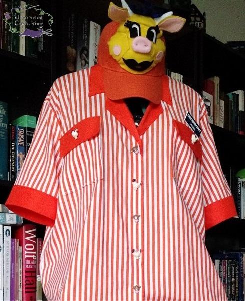 Doublemeat Palace Uniform, in progress