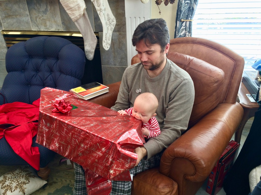 unwrapping at 5 months