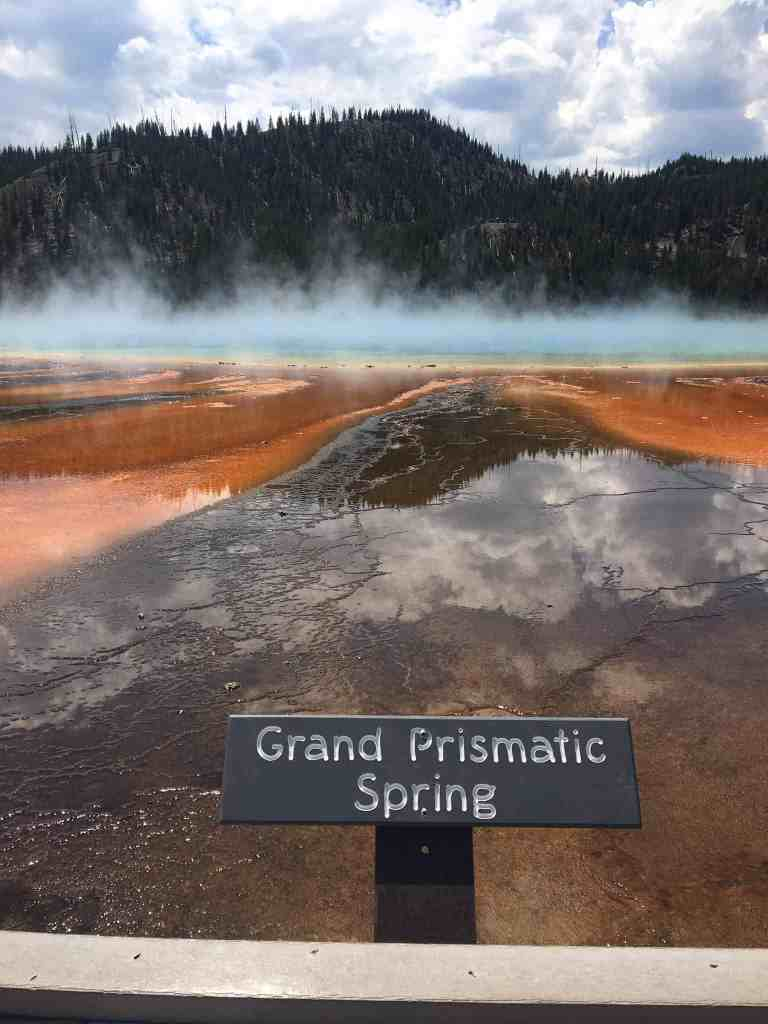 Yellowstone. It is just so cool and deserves way more time for exploration than we gave it.