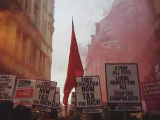 London, March for Free Education, Students, University