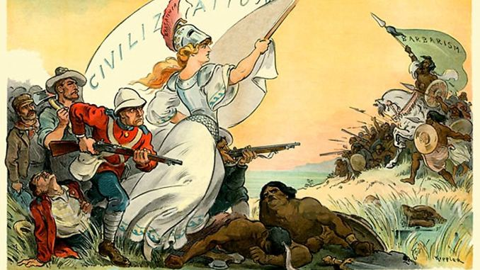 imperialism, colonialism, racism, ideology, British empire