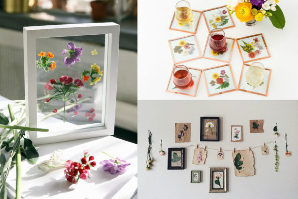 7 Stunning Pressed Flower Decor DIYs   Uncommonly Well 7 Stunning DIY s You Can Make with Pressed Flowers