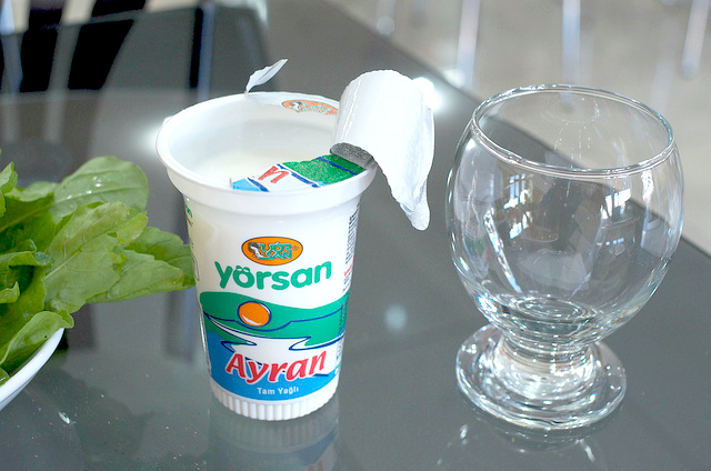 Turkish yörsan Ayran