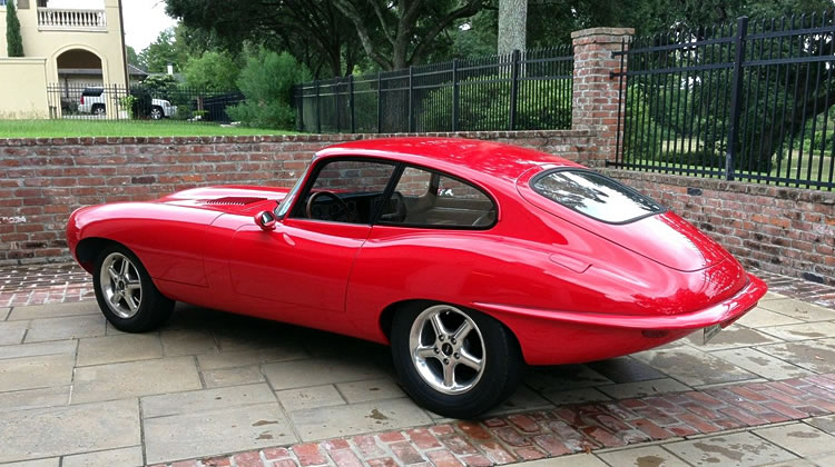 1969 Jaguar E-Type Gets Hot Rod Happiness From Ford