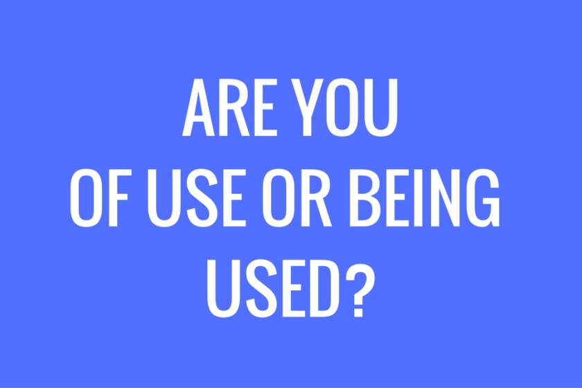 [QOTW] Have You Ever Used Anyone? [Written By Brandon Williams]