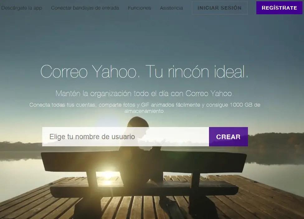 registrar correo Yahoo