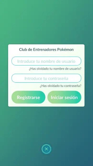 registrarse en el Club de Entrenadores