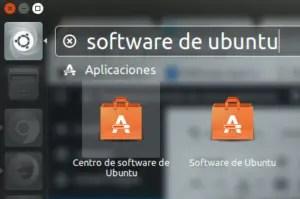 Búsqueda en Centro de Software Ubuntu