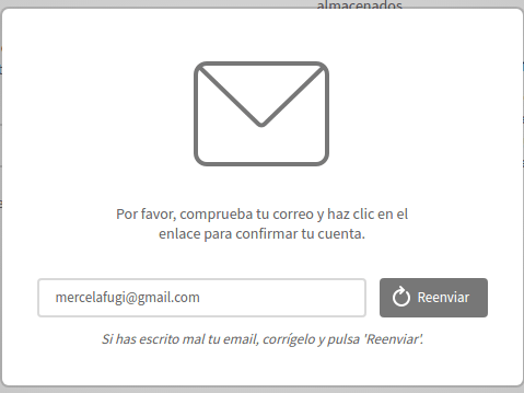 comprobar correo de mega