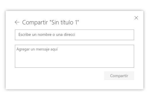 enviar archivo de OneDrive por correo electrónico