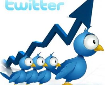 seguidores en Twitter
