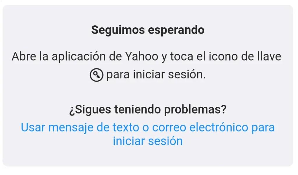 problemas con Yahoo