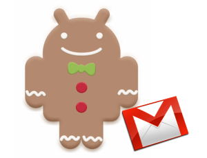 Android Gingerbread y Gmail