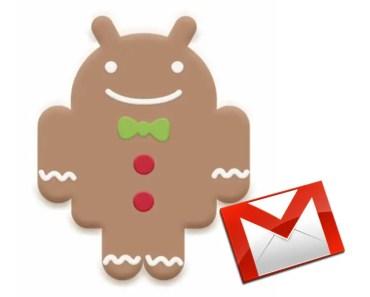 Cómo descargar Gmail 2.3.6 APK para Android 2.2 Froyo y Android 2.3.4 Gingerbread
