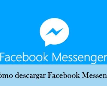 como descargar facebook messenger gratis en español