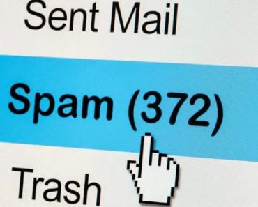 que es el spam en el correo electrónico