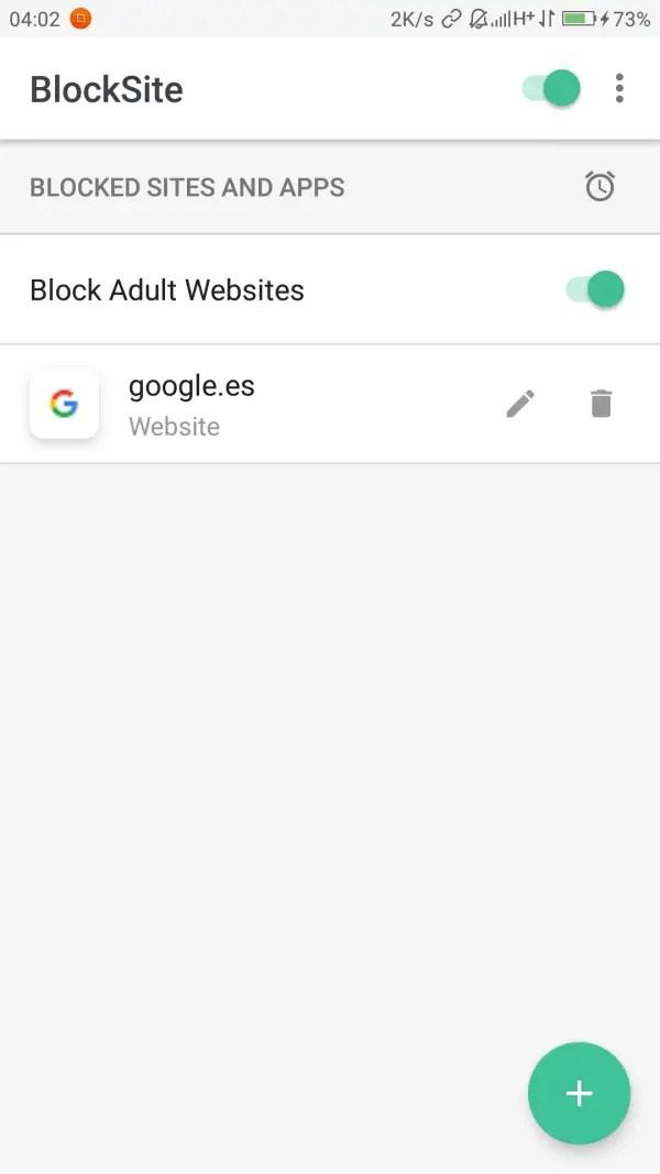 funcionamiento de blocksite