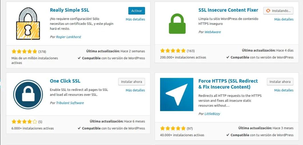 instalar plugins ssl