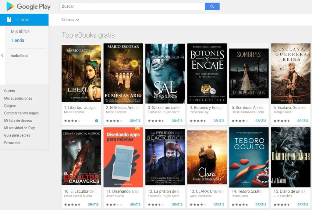 google play libros