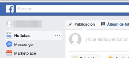 cuenta nueva Facebook Marketplace