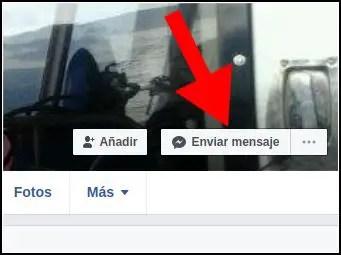Enviar mensaje Inbox en Facebook