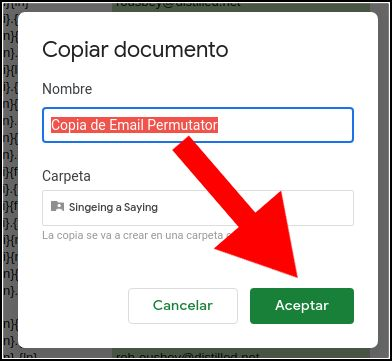 copia de Email Permutator