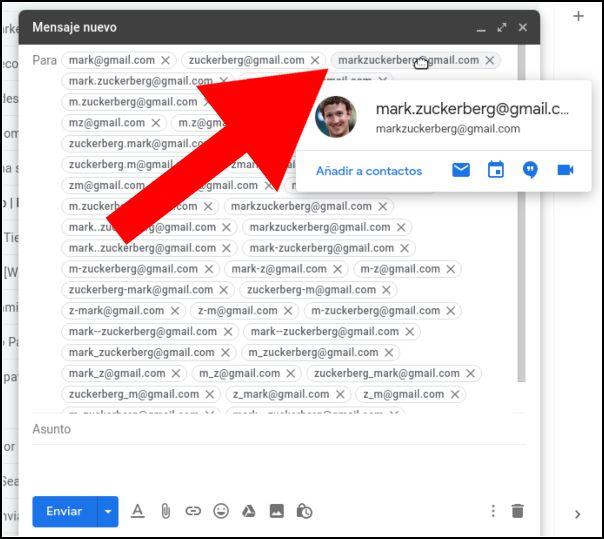 correo correcto gmail