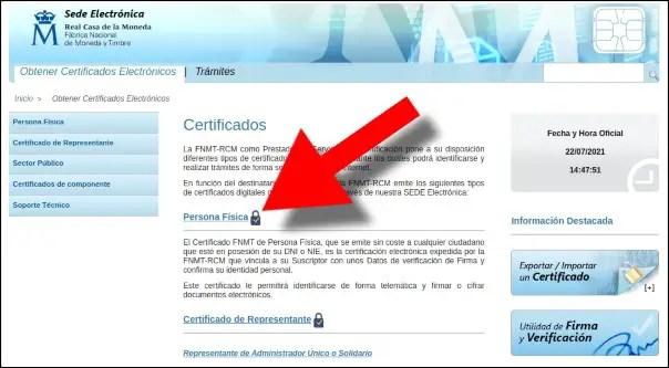 certificado digital fnmt