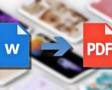 Aprende a convertir archivos de Word a PDF fácilmente y gratis