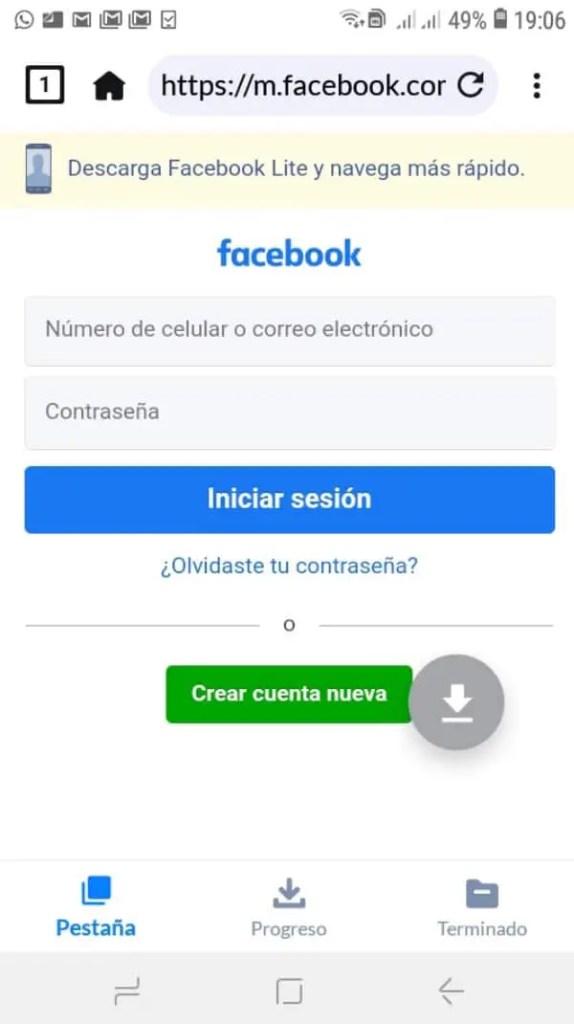Descargar vídeos privados de Facebook en Android_3