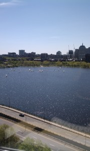 The spectacular view from Edcamp Boston at the Microsoft NERD.