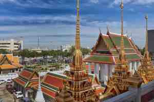 The city of Bangkok has two parallel world running together
