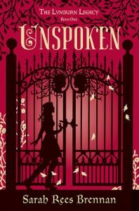 Review: Unspoken (The Lynburn Legacy #1) – Sarah Rees Brennan