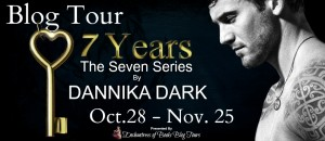 Blogtour, Review: Seven Years (Seven #1) - Dannika Dark