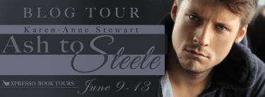 Blogtour and Review: Ash to Steele - Karen-Anne Stewart