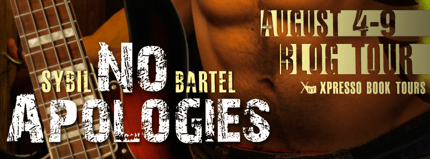 Giveaway and Blogtour Review: No Apologies - Sybil Bartel