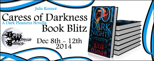 Blogtour and Giveaway: Caress of Darkness