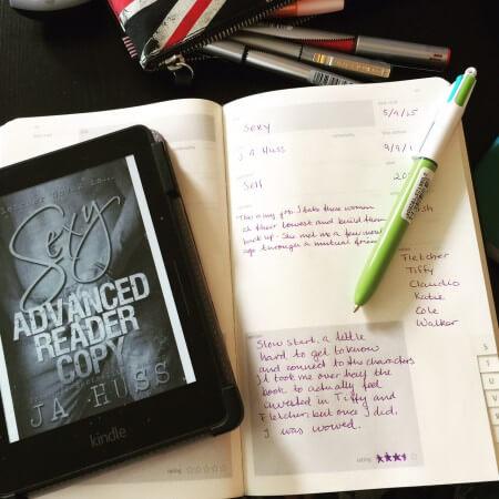 Sexy book journal - (un)Conventional Bookviews