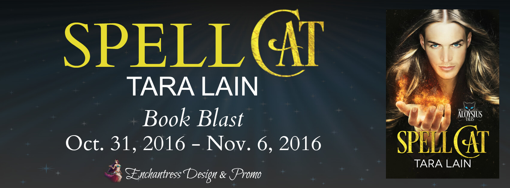 Blog tour Review: Spell Cat - Tara Lain