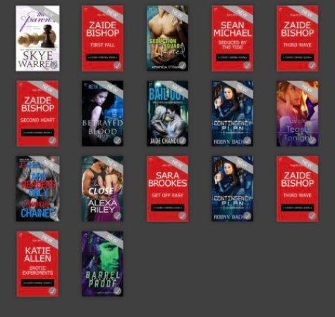 Carina Press ARCs - (un)Conventional Bookviews - Weekend Wrap-up